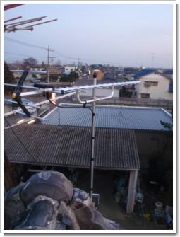 鴻巣市広田A様 アンテナ工事完了。.JPG