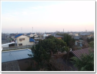 鴻巣市広田A様 東京タワー方向の景色。.JPG