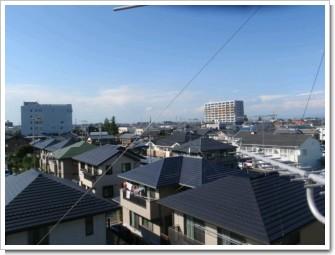 鴻巣市南T様 前橋局方向の景色。.JPG