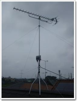鴻巣市登戸A様 アンテナ工事完了。.JPG