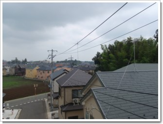 鴻巣市登戸A様 東京タワー方向の景色(完了)。.JPG