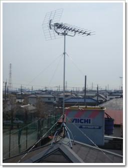鴻巣市神明M様 アンテナ工事完了。.JPG