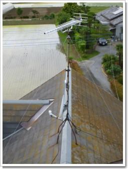 鴻巣市新井O様 アンテナ工事完了。.JPG