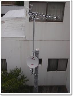 鴻巣市新井N様 アンテナ工事完了。.JPG