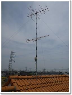 鴻巣市新宿S様 アンテナ工事完了。.JPG