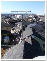 鴻巣市新宿T様 アンテナ工事完了。.JPG