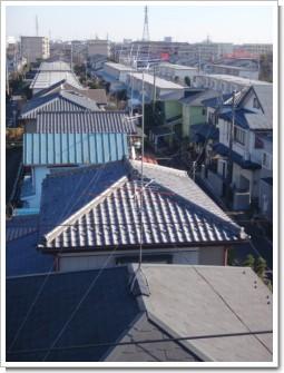 鴻巣市吹上富士見M様 アンテナ工事完了。.JPG