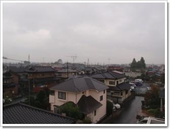 鴻巣市吹上富士見S様 児玉局方向の景色。.JPG