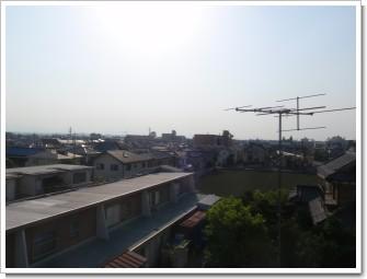 鴻巣市吹上富士見町S様 児玉局方向の景色。.JPG