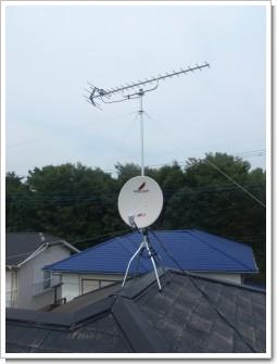鴻巣市赤見台K様 アンテナ工事完了。.JPG