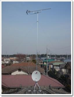 鴻巣市赤見台H様 アンテナ工事完了。.JPG