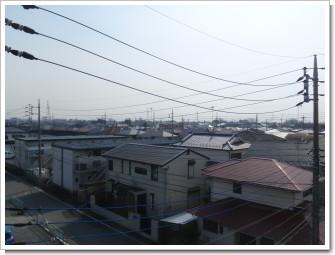 鴻巣市赤見台H様 東京タワー方向の景色(完了)。.JPG