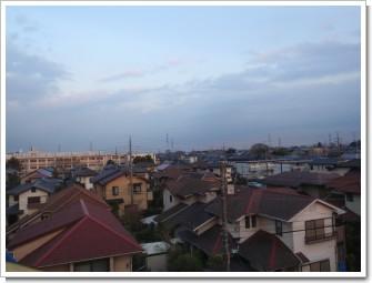 鴻巣市赤見台H様 東京タワー方向の景色。.JPG