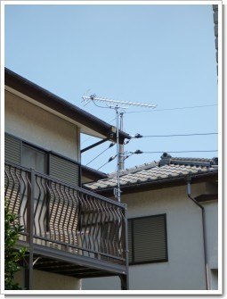 鴻巣市赤見台O様 アンテナ工事完了。.JPG