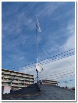 鴻巣市赤見台M様 アンテナ工事完了。.JPG