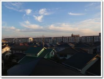 鴻巣市赤見台M様 東京タワー方向の景色。.JPG