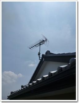 鴻巣市赤城S様 アンテナ工事完了。.JPG