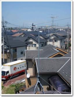 鴻巣市大間N様 アンテナ工事完了。.JPG