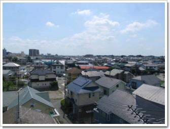 鴻巣市大間I様 東京タワー方向の景色(完了)。.JPG