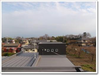 鴻巣市滝間室K様 東京タワー方向の景色。.JPG