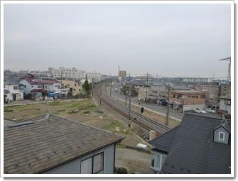 鴻巣市筑波T様 東京タワー方向の景色。.JPG