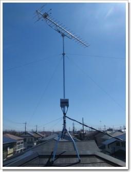 鴻巣市中央T様 アンテナ工事完了。.JPG