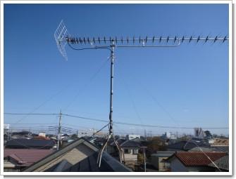 鴻巣市雷電T様 アンテナ工事完了。.JPG