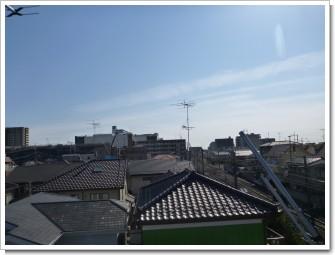 鴻巣市雷電T様 東京タワー方向の景色(完了)。.JPG