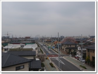 鴻巣市緑町Y様 東京タワー方向の景色。.JPG