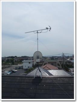 鴻巣市富士見町K様 アンテナ工事完了。.JPG