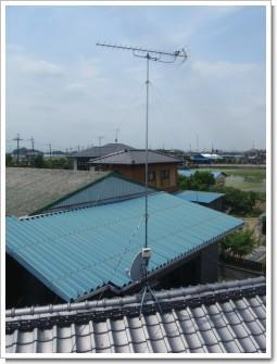 鴻巣市北根I様 アンテナ工事完了。.JPG