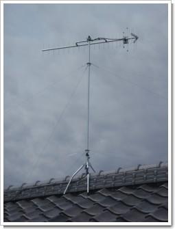 鴻巣市北根K様 アンテナ工事完了。.JPG