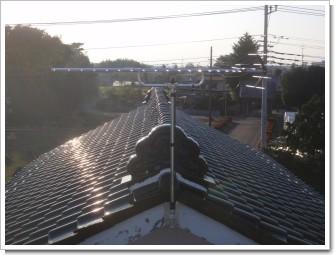 鴻巣市北根T様 アンテナ工事完了。.JPG