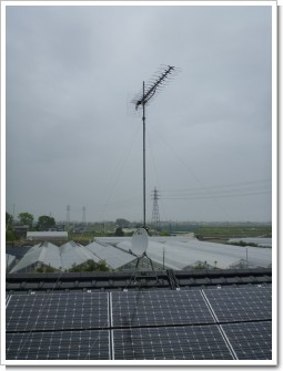 鴻巣市北根Y様 アンテナ工事完了。.JPG