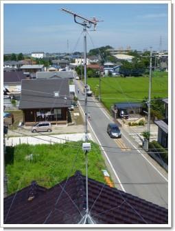 鴻巣市北中野N様 アンテナ工事完了。.JPG