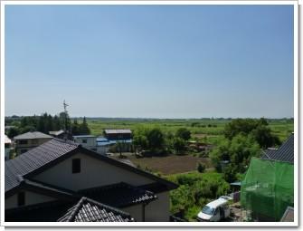 鴻巣市北中野N様 東京タワー方向の景色(完了)。.JPG