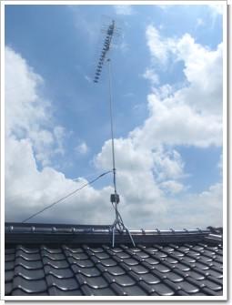 鴻巣市本宮町S様 アンテナ工事完了。.JPG