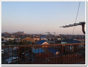 鴻巣市本町O様 東京タワー方向の景色。.JPG