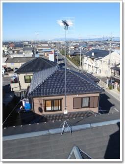 鴻巣市本町N様 アンテナ工事完了。.JPG