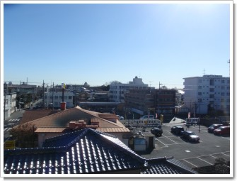 鴻巣市本町N様 東京タワー方向の景色(完了)。.JPG
