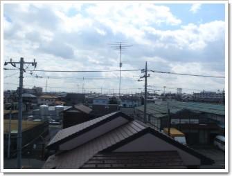鴻巣市本町A様 東京タワー方向の景色(完了)。.JPG