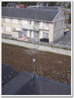 鴻巣市箕田N様 アンテナ工事完了。.JPG