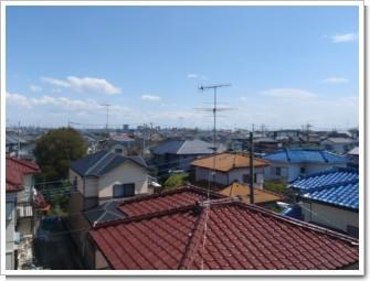 鴻巣市箕田A様 東京タワー方向の景色(完了)。.JPG