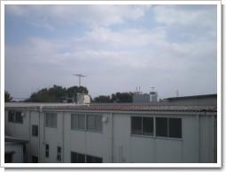 三芳町K様 受信方向の景色。.JPG
