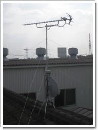 三芳町K様 アンテナ工事完了。.JPG