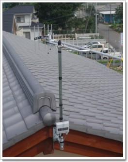深谷市上野台M様 アンテナ工事完了。.JPG