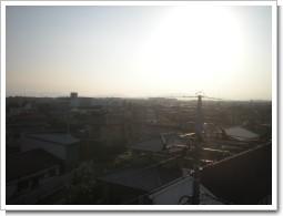 深谷市東大沼N様 児玉局方向の景色。.JPG