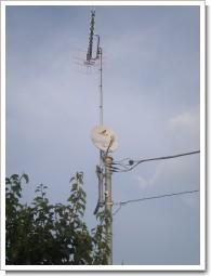 深谷市東大沼N様 アンテナ工事完了。.JPG