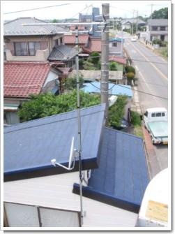 白岡町上野田T様 アンテナ工事完了。.JPG