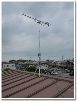 白岡町小久喜M様 アンテナ工事完了。.JPG